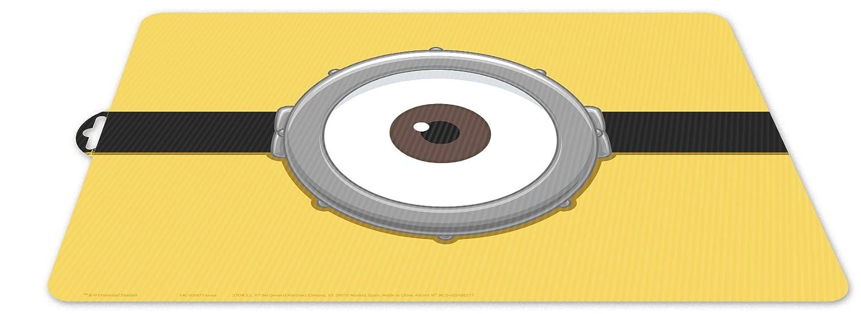 MINIONS 0427 Mantel Individual Character GRU 3 mi Villano Favorito; Dimensiones 43x29 cms; Producto de pl/ástico; Libre bpa.