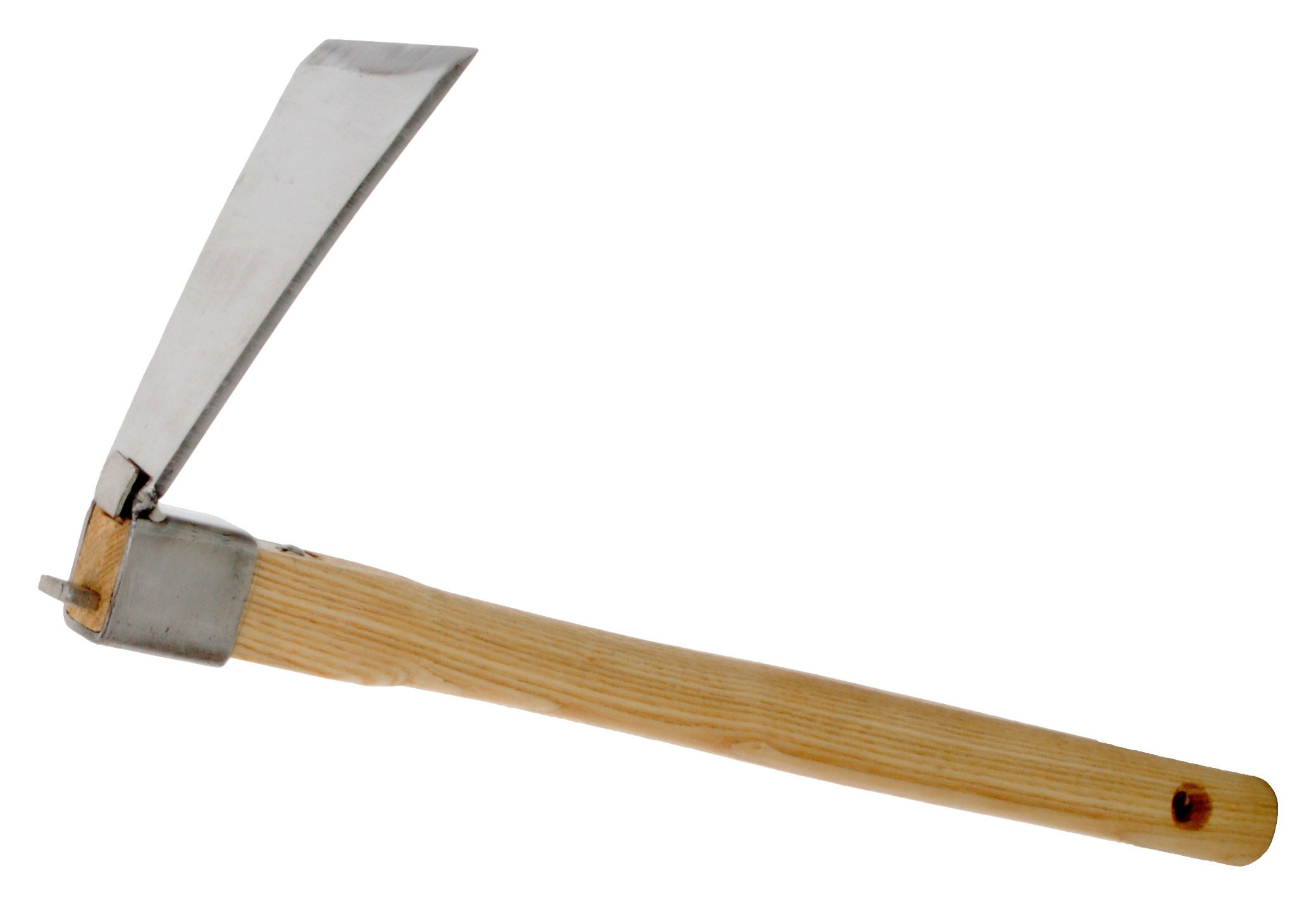Zenport J602-B Forged Hoe with 3.25-Inch by 6-Inch Stainless Steel Blade Head
