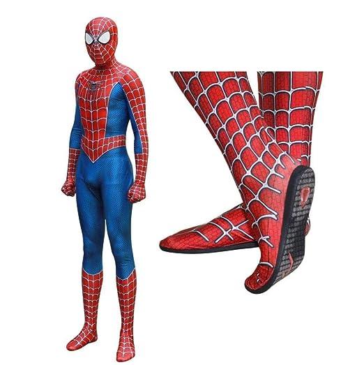 Tengda Traje Cosplay Raimi Spiderman Kostuum Disfraz Impresión 3D ...