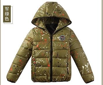 Oto?o/invierno abrigo acolchado algod¨®n ropa hombres de los ni