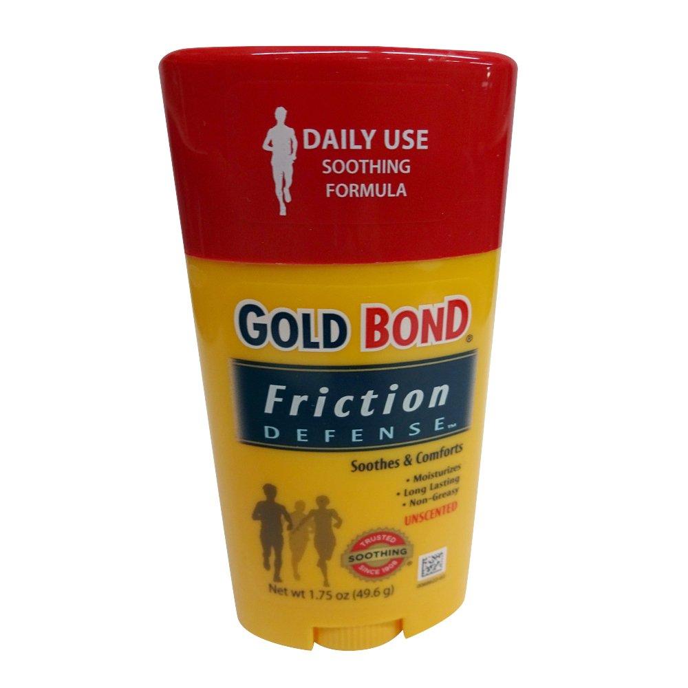 Gold Bond Friction Defense Stick Unscented 1.75 oz ( Pack of 4)