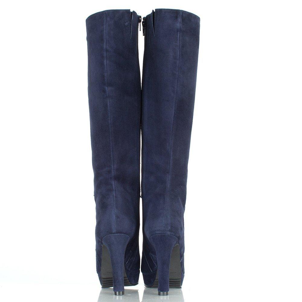 9317a780bd2d9 Daniel Navy Suspicious Women's Knee High Boot Navy Suede UK 8: Amazon.co.uk:  Shoes & Bags