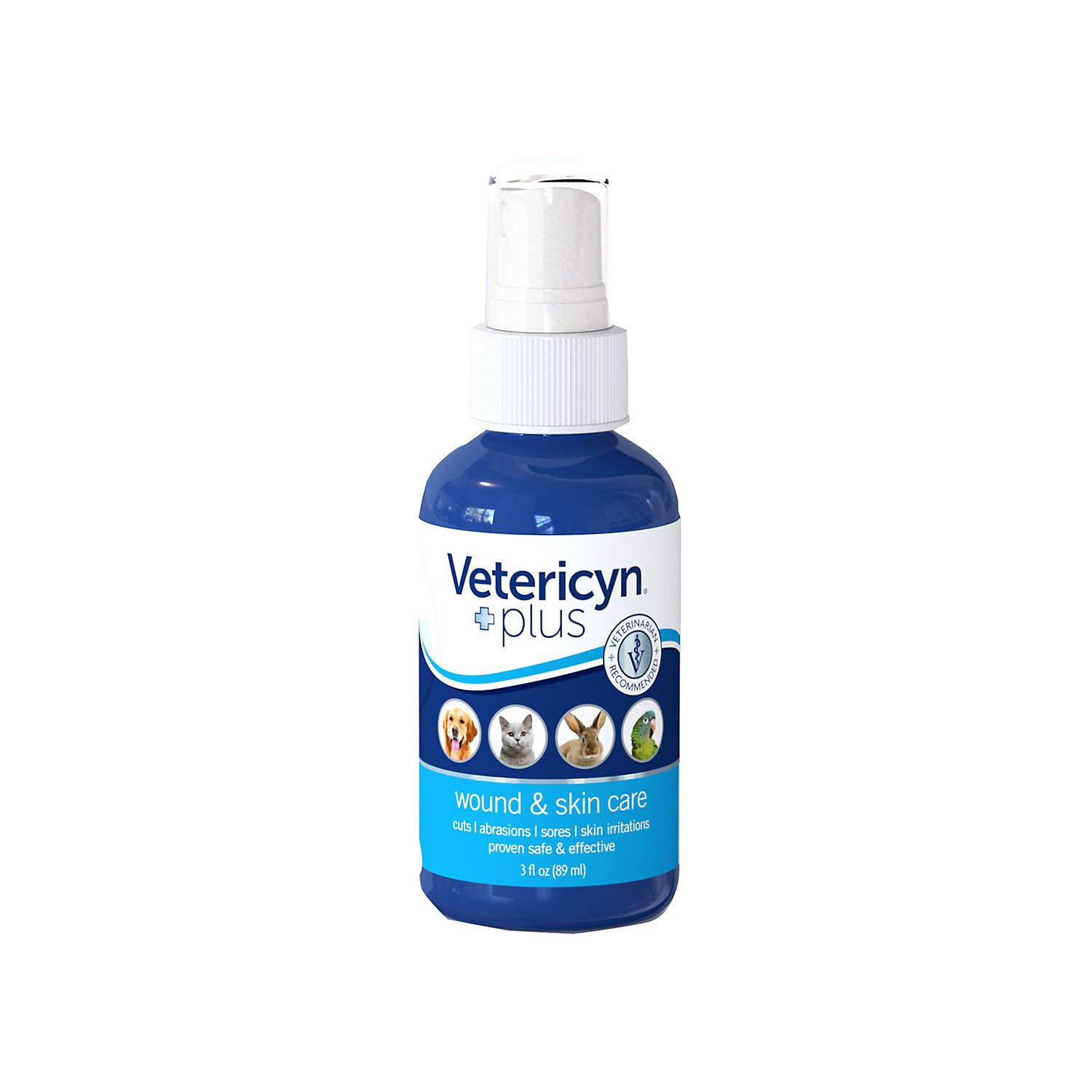 Vetericyn Plus Antimicrobial Wound and Skin Care. Spray to Clean Cuts and Wounds. Itch and Irritation Relief. No… – The Cat Site