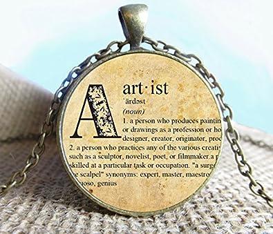 Amazon dictionary pendant artist necklace jewelry fine art dictionary pendant artist necklace jewelry fine art necklace jewelry artist dictionary pendant aloadofball Choice Image