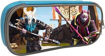 Estuche para lápices Fortnite Game Ragnarok Drift gran capacidad estuche de papelería de escritorio y organizador de oficina con cremallera bolsa de maquillaje: Amazon.es: Oficina y papelería