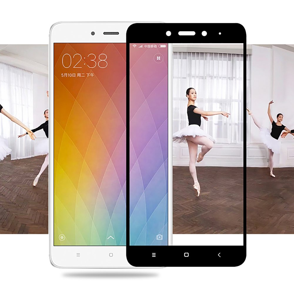 Xiaomi Redmi Note 4 With Mediatek Helio X20 4x 4gb Ram Tempered Glass Full Color Ramwith Flos Screen Protector White