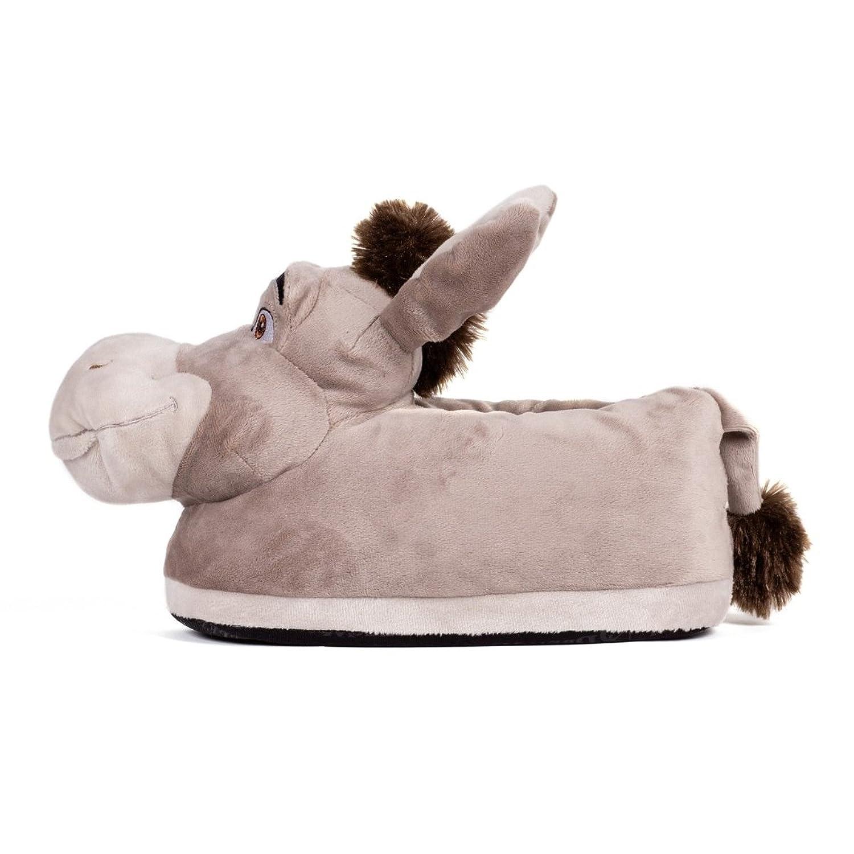 Sleeper'z - Zapatillas de Estar Por Casa Unisex adulto, gris (gris), 45 - 46 [XXL]