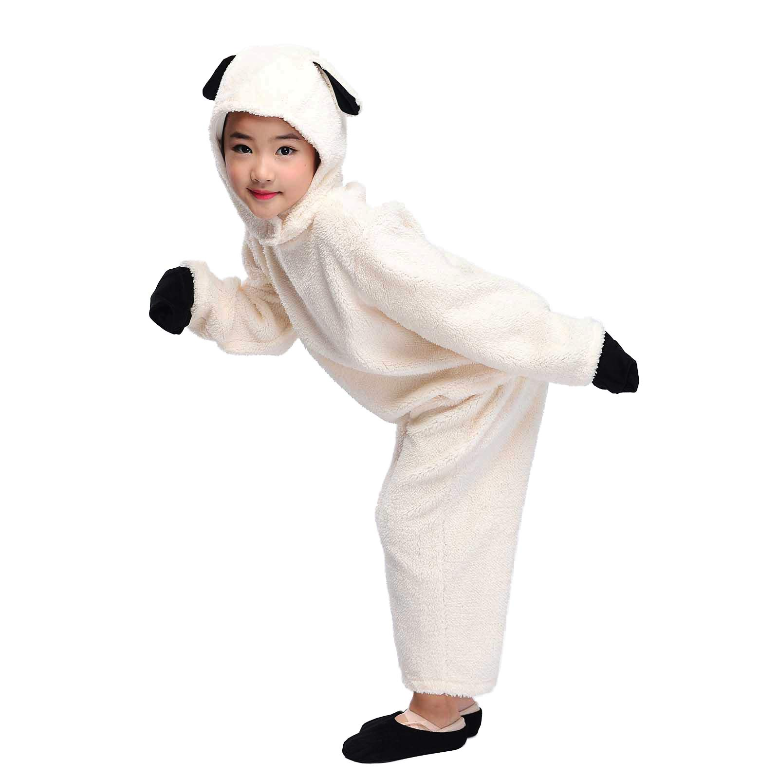 Kids Sheep Costume Animals Party Childen Halloween Cosplay Fancy Dress L by HongH