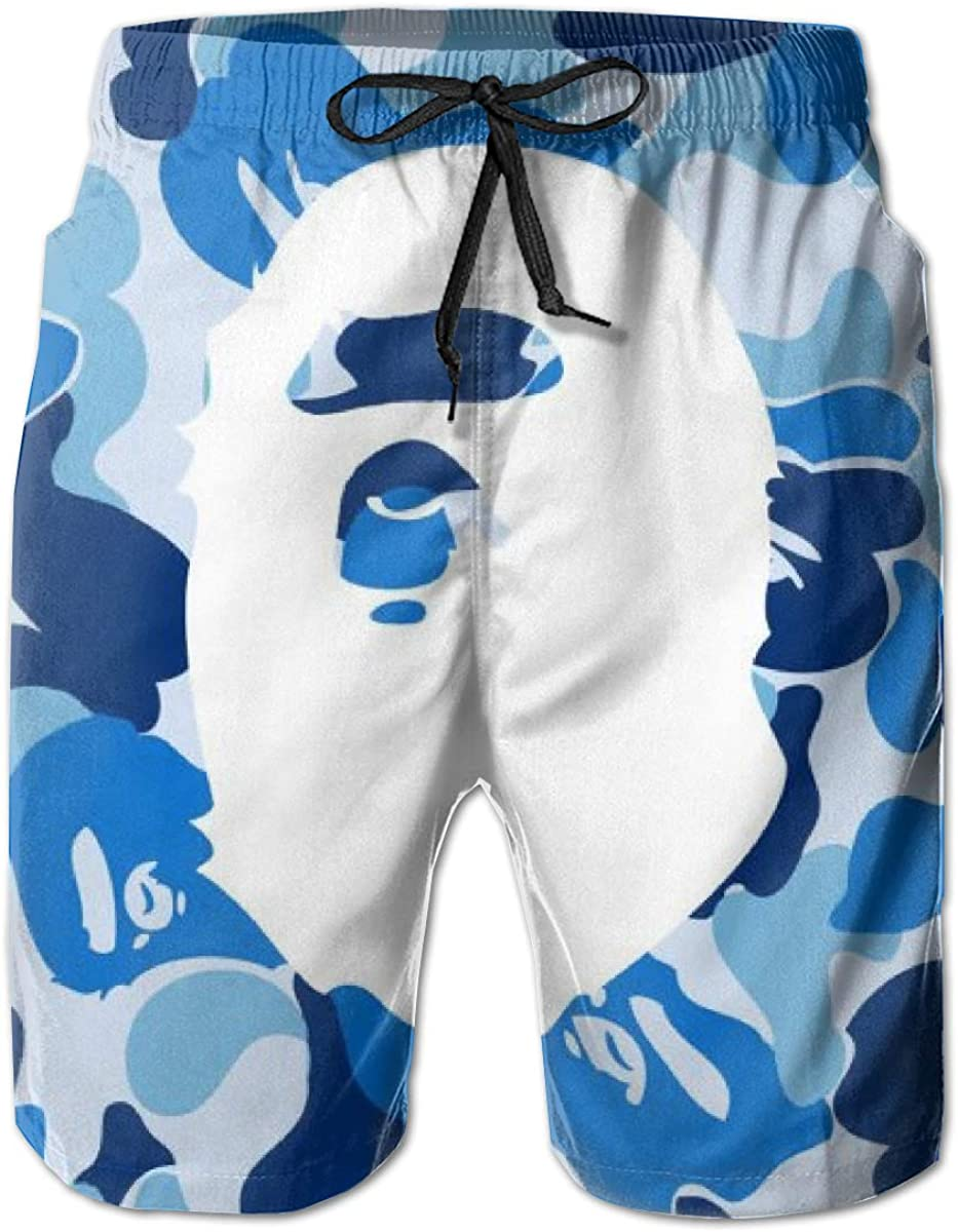 G.Jensen Beach Shorts Bape Mens Ultra-Light Swim Trunks Casual Board Pants