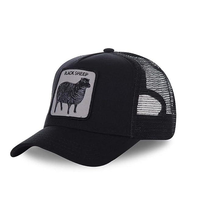 Gorra de béisbol Oveja Negra | GOB_101-6100-BLK - OS: Amazon.es: Ropa y accesorios