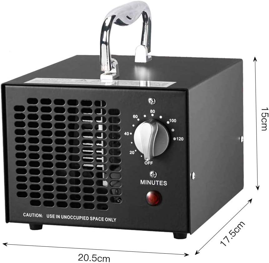 Cutygo Generador de Ozono Comercial - 3500 MG/h | Esterilizador ...