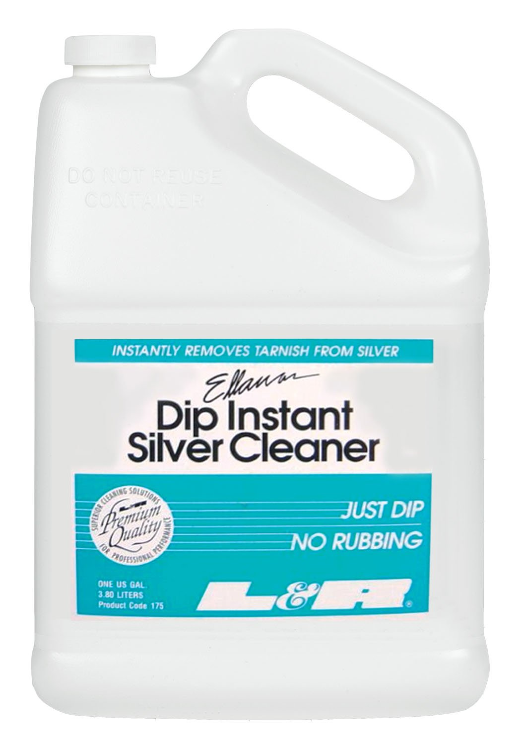 Dip Instant Silver Cleaner by L&R - 1 Gallon