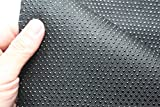 "AntiSlip vinyl Non slip fabric rubber Non Skid Rubber Treated Fabric 58"" wide BTY (black)"