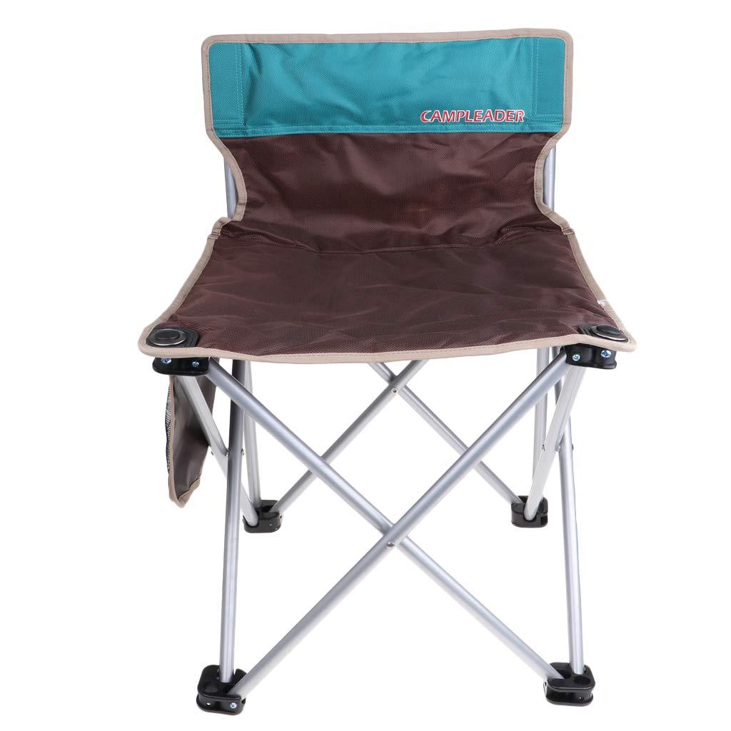 Baoblaze Klappstuhl Camping Stuhl mit Aufbewahrungstasche Für Balkon Garten Wohnzimmer