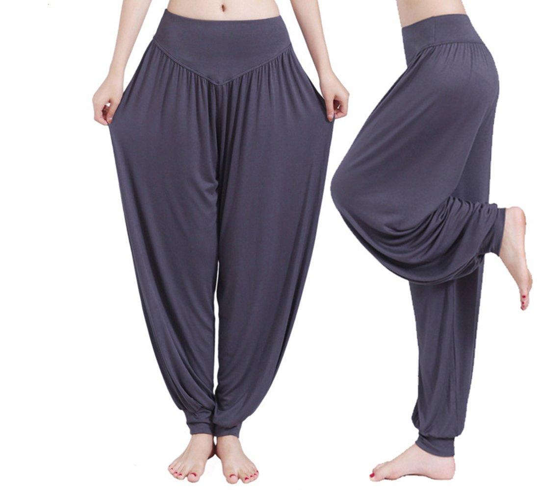 style yoga Pour femme fuchsia s confortable Pantalon sarouel Hippolo