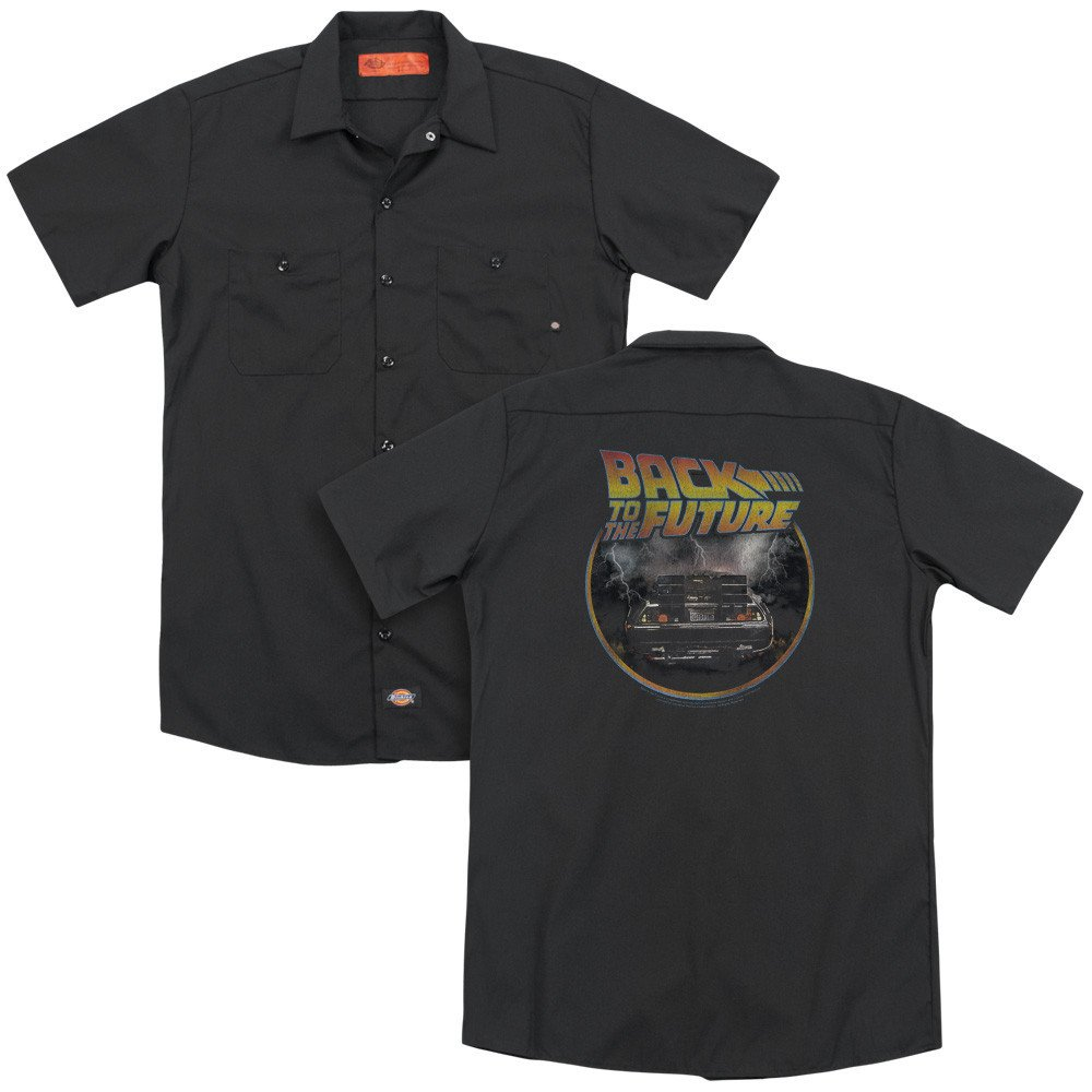 Back To The Future Back Adult Work Shirt