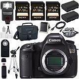 Canon EOS 5DS 5D S DSLR Camera + LPE-6 Lithium Ion Battery + Canon 100ES EOS shoulder bag Bundle 4