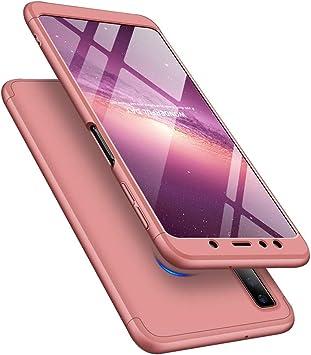 MRSTER Funda Samsung A20-360 Grados Protección Cubierta PC Hard ...