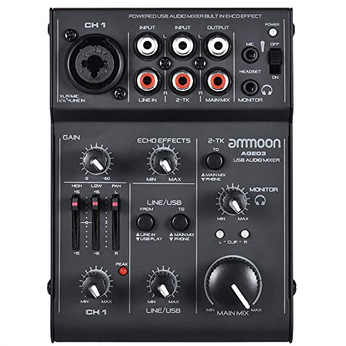 mixer with xlr output and rca input. Black Bedroom Furniture Sets. Home Design Ideas