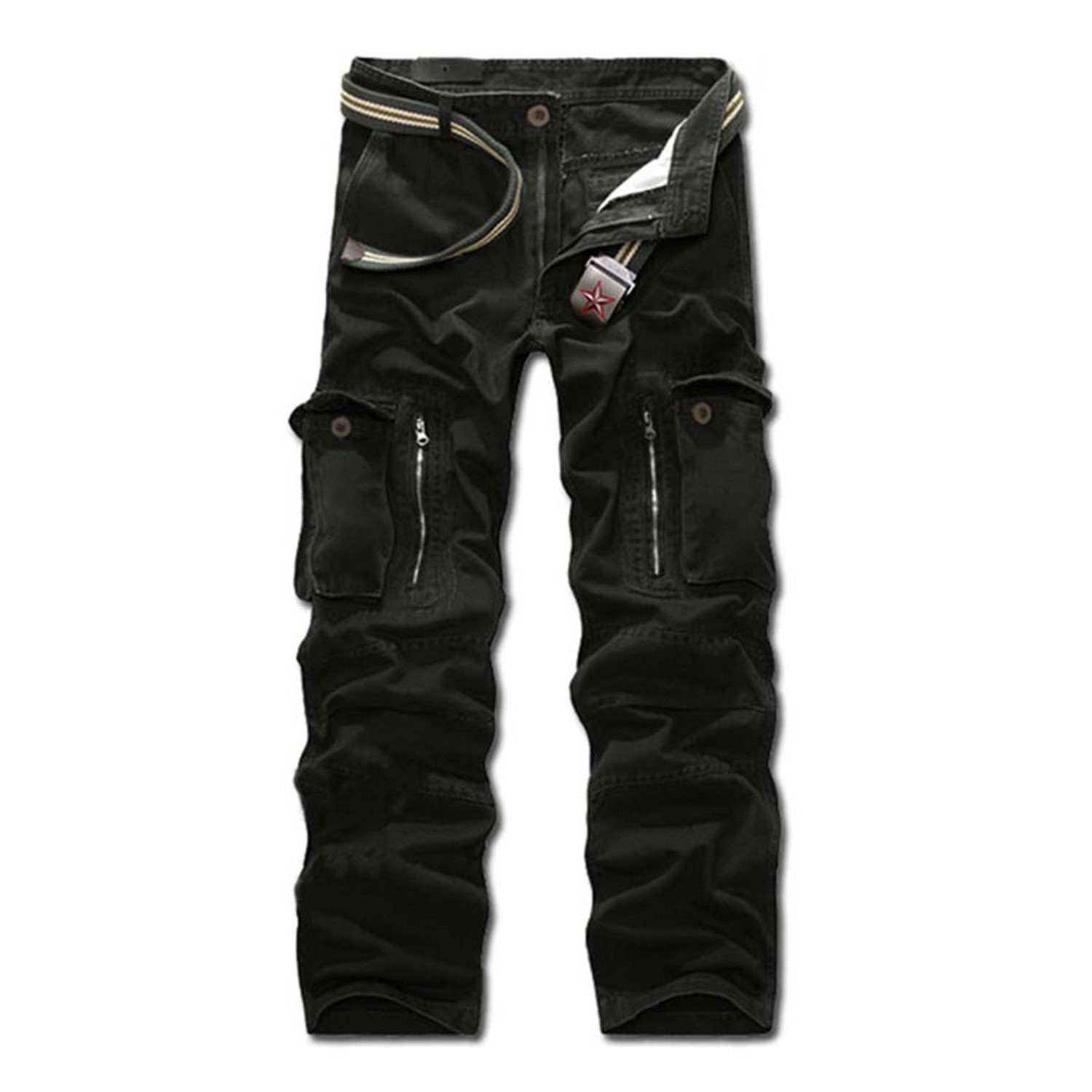 Toping Fine Pants Fashion Mens Slacks Trousers Military Army Combat Camo Work Pants Overalls 249 Army Green31 by Toping Fine Pants (Image #1)