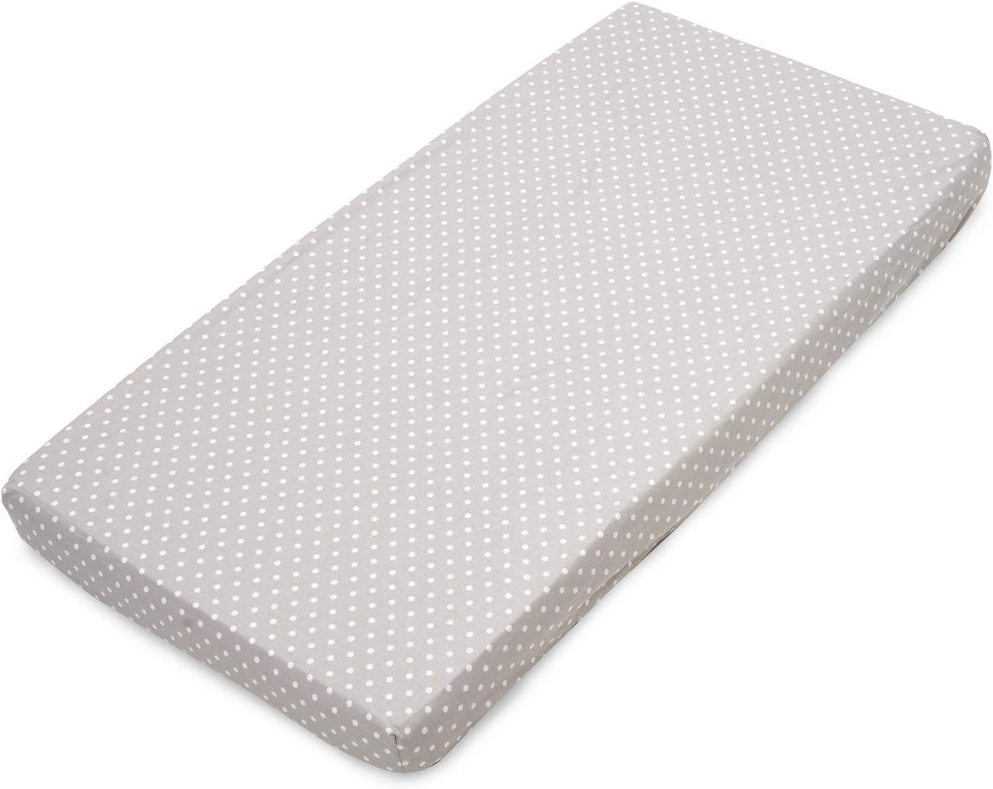 gris, /étoiles multicolores et blanc - Fabriqu/é en Europe Lot de 3 draps-housses 1 prot/ège-matelas imperm/éable 120 x 60 cm 100/% coton certifi/é Oeko-Tex