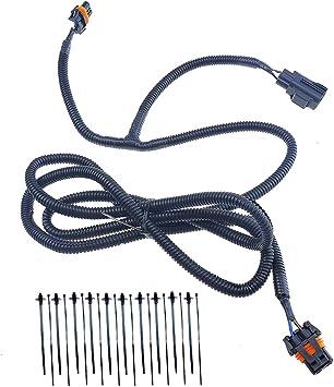 amazon.com: 68046303ac, fog light wiring harness for dodge ram 2500 3500  4500 5500, 2010-2017, fog lamp jumper wire harness: automotive  amazon.com