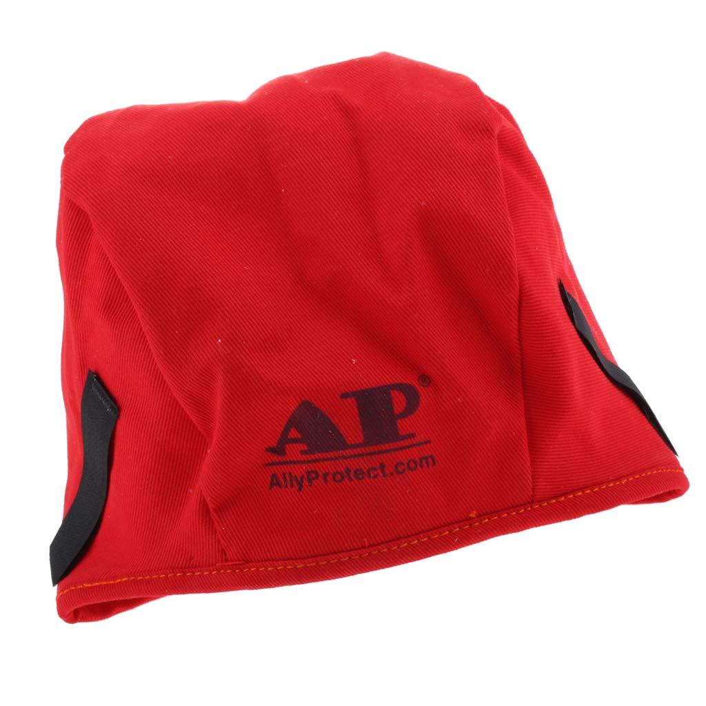 Baoblaze Premium Welding Hat Welding Welders Flame Retardant Protective Welding Cap Hat Head Prorection - 4