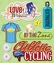 K&company Cycling Sticker Medley