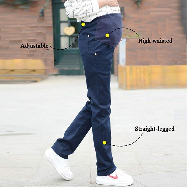 Hivia Leggins Embarazada Termicos Pantalones Premama Legging Banda par/á Barriga Pantalon Maternidad Leggings Invierno Cintura Alta Elasticos Tallas Grandes