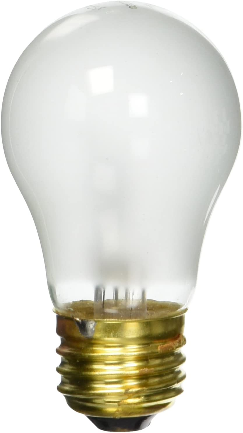 Bulbrite 25A15F 25-Watt Incandescent A15 Appliance Bulb, Frost