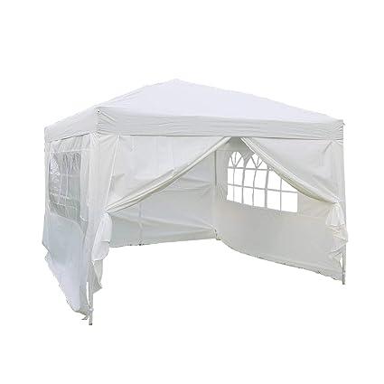 Kinbor 10'x10' Pop-up Canopy Wedding Party Tent, Heavy Duty Outdoor - Amazon.com : Kinbor 10'x10' Pop-up Canopy Wedding Party Tent, Heavy