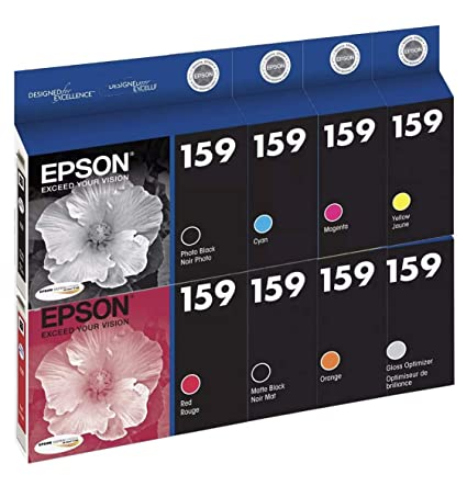Amazon.com: Epson UltraChrome Hi-Gloss 2 cartuchos de tinta ...