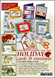 Software : ScrapSMART - Vintage Christmas, Chanukah, and New Years Holiday Cards & Envelopes Software [Download]