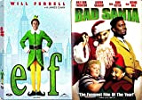 Bad Santa & The Elf Will Ferrell Comedy Christmas 2 Pack holiday double feature Movie