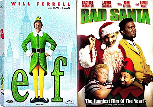 Dangerous Santa & The Elf Will Ferrell Comedy Christmas 2 Pack vacation double characteristic Film