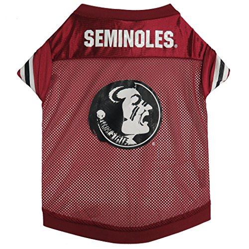 NCAA Florida State Seminoles Football Dog Jersey, X-Large  - New Design