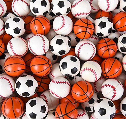 33MM (1.25'') SPORT BALL HI BOUNCE BALL, Case of 576 by DollarItemDirect (Image #2)