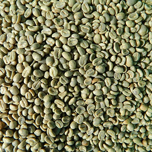 Green Unroasted Coffee Beans