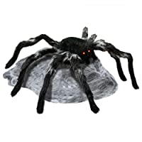 HomeDepot.com deals on 22 in. Animated Jumping Spider with Red LED Eyes