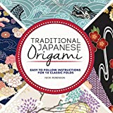 Traditional Japanese Origami Kit: Easy to Follow Instructions for 10 Classic Folds - Includes Over 70 Pieces of Beautiful Folding Paper