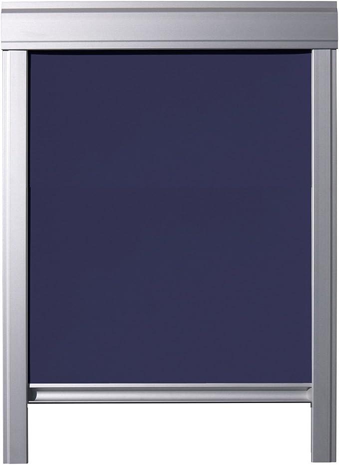 KINLO Store pour Fen/être de Toit Velux S06 et 606-96 x 93 cm Beige Velux Rideau Occultant Compl/ète avec Ventouses sans Per/çage Protection Solaire au Rev/êtement Thermique