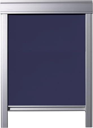 Itzala Store Occultant Pour Velux Fenêtres De Toit M08 308 2 Bleu Foncé
