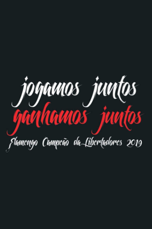 Flamengo Soccer Camisa Flamengo Jogamos Juntos Premium ...