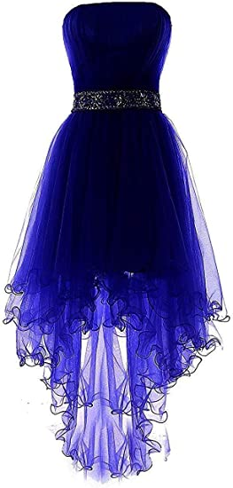 Dresses Onlie damska sukienka balowa bez ramiączek, niska z koralikami, haftowana sukienka wieczorowa, sukienka na imprezę: Odzież
