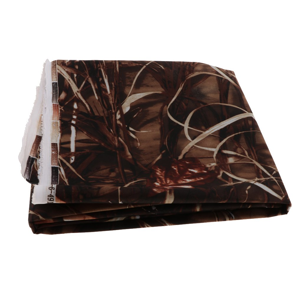 1 Meter Homyl Heavy Duty Thick Camouflage PVC Waterproof Canvas Fabric 600D Outdoor Cover Materials Sold by Metre 1#
