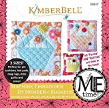 Kimberbell Machine Embroider by Number: Baskets Embroidery Design CD KD617
