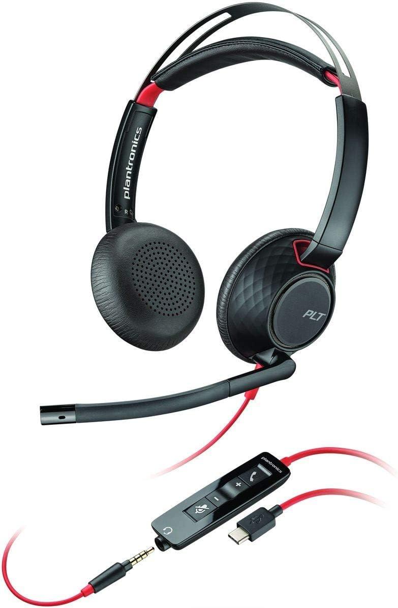 Plantronics Blackwire C5220 Binaural Headset With Usb C Elektronik