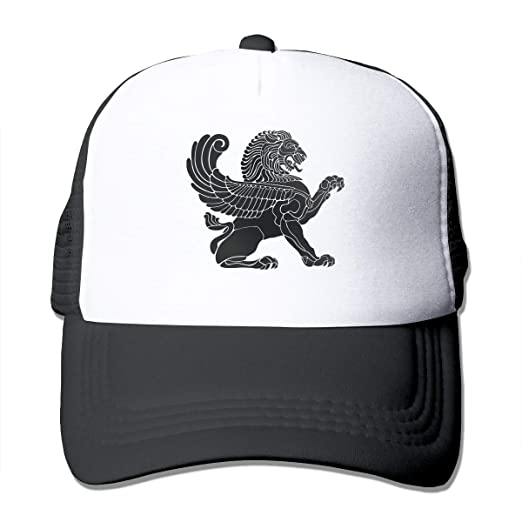 480fa93d Ancient Lion Trucker Hat Snap Back Sun Mesh Baseball Cap Hip Hop ...