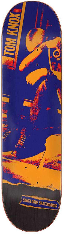 Santa Cruz スケートボードデッキノックス パンク 8.25インチ x 31.8インチ