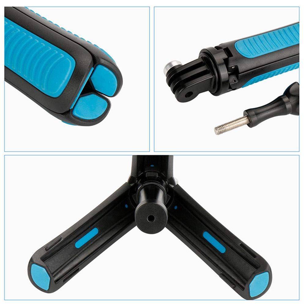 Leoie Mini Portable Extension Pole Handheld Self-Pole Shorty Go Pro Tripod Monopod Stick Mount for Gopro Action Cameras